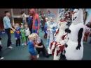 Новый год супергерои Веселяндия !