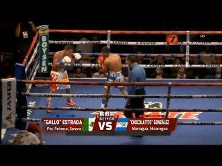 "Juan Francisco ""Gallo"" Estrada vs Roman ""Chocolatito"" Gonzalez Completa HD Tv Azteca"