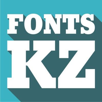 Fonts KZ (казахские шрифты)   ВКонтакте