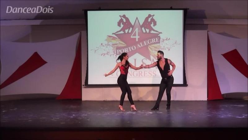Daniel y Desiree (Porto Alegre Salsa Congress - Bachata Duo - Sevilha - Espanha)