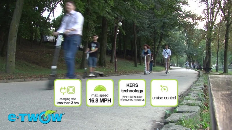 Революционный электросамокат Etwow S2 vk.com/escooters