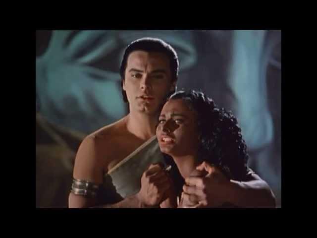 Аида фильм-опера, 1953 г. - Фрагмент финала. Аида, Радамес, Амнерис