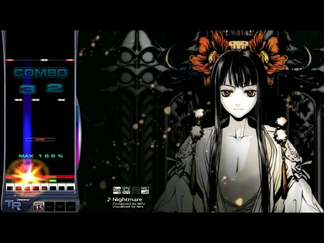 DJMAX Trilogy Nightmare 8Key SC It's HORRIBLE HARD 720p compatibility
