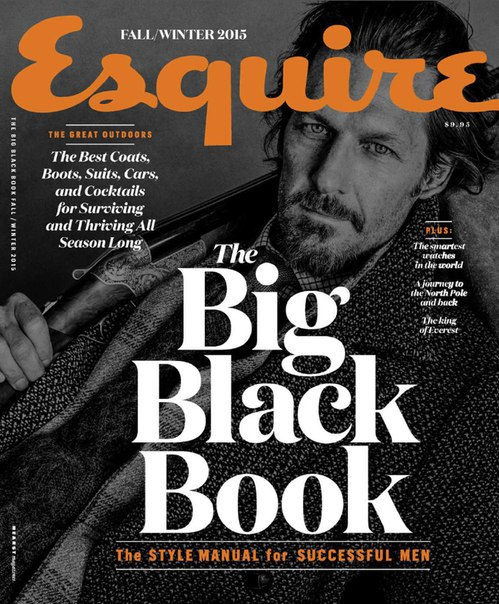 Esquire The Big Black Book - Fall 2015  USA vk.com