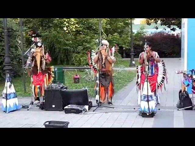 Я снимал концерт Индейцев и тут такое началось Часть 1