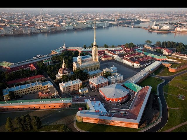 Петербург Петропавловская крепость главная цитадель России Подробное путешествие фильм