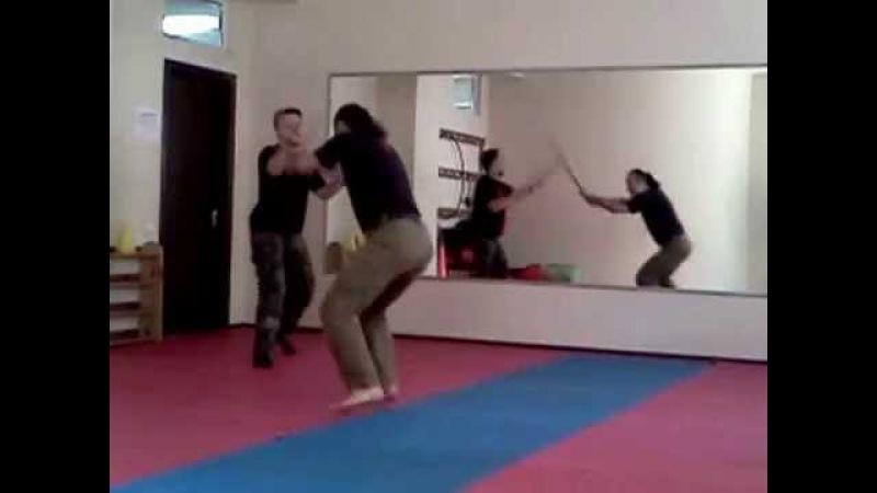 Фехтование двумя мечами 02 Клуб Канкиро Одесса