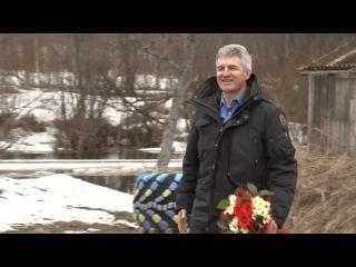 Артур Парфенчиков в родной деревне
