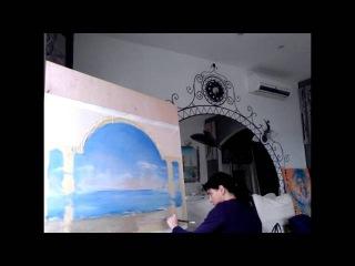 Настенные фрески на заказ -  Креативный Декор белой стены