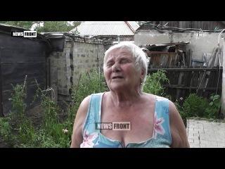 Жизнь в прифронтовых территориях ДНР: Трудовские после ночного артобстрела ВСУ