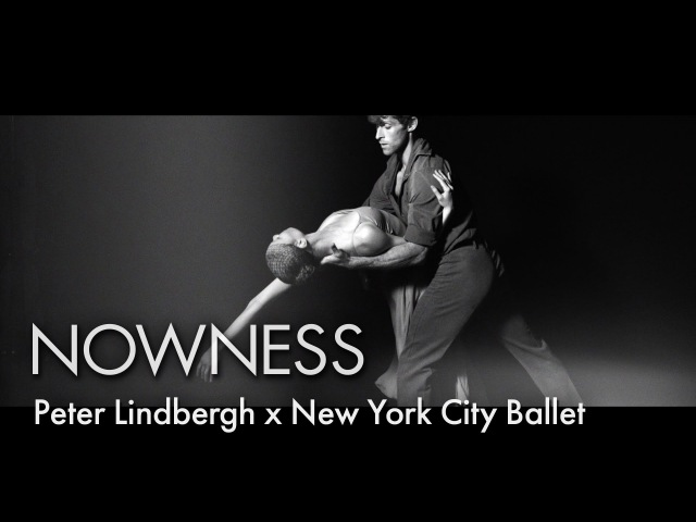 Backstage at with the New York City Ballet dancers