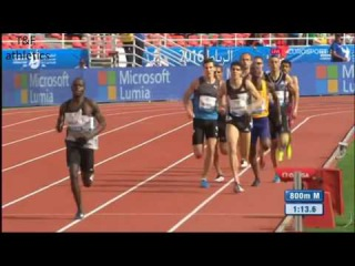 800m Men's - Rabat Diamond League 2016
