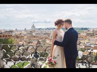 Свадьба в Европе. Италия, Рим 3 апреля 2017 (инстатрейлер)