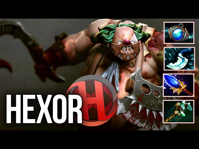 1000 Pudge Games hexOr Roaming Pudge Compilation Dota 2