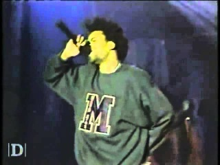 Method Man Performs - Bring The Pain / . Man (Live on The Jon Stewart Show In 1994)