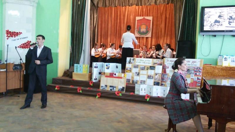 20160428 виступ на концерті до трагедиї в Чорнобилі