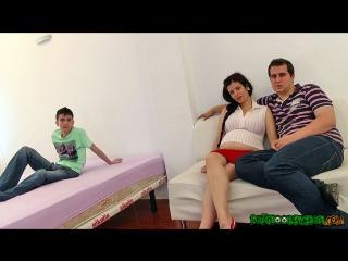 Sandra martín & jordi el niño polla, embarazada en venta: el niño polla goza con la futura mamá (2014)