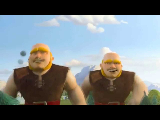 Clash of Clans реклама Гігантів Giants Official Animated TV Commercial
