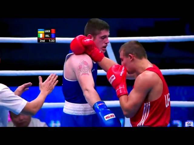 2015 10 09 81 kg Olexandr Khizhnyak UKR Ward Joseph IRL 1 8