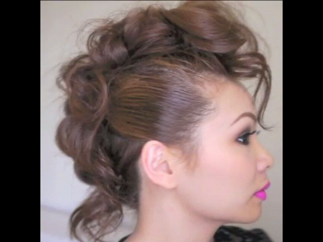 """Cinthia Truong on Instagram Press ▶ Some of you were requesting for a mohawk hairstyle so here's one I uploaded this a while back on my channel If you want to see…"""""""