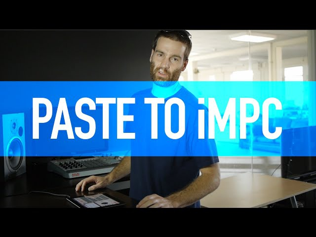 How Do It Paste to iMPC iMPC Pro iMPC iPhone from AudioCopy