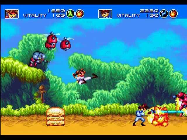 Mega Drive Longplay [188] Gunstar Heroes (2P) (a)