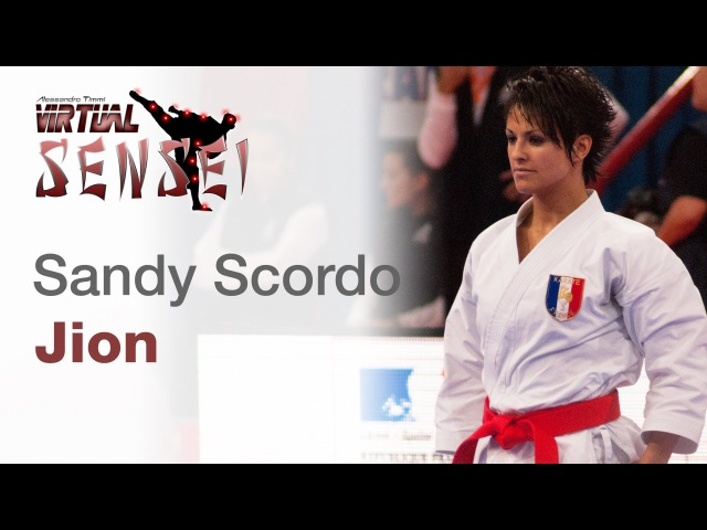 Sandy Scordo - Kata Jion - 21st WKF World Karate Championships Paris Bercy 2012