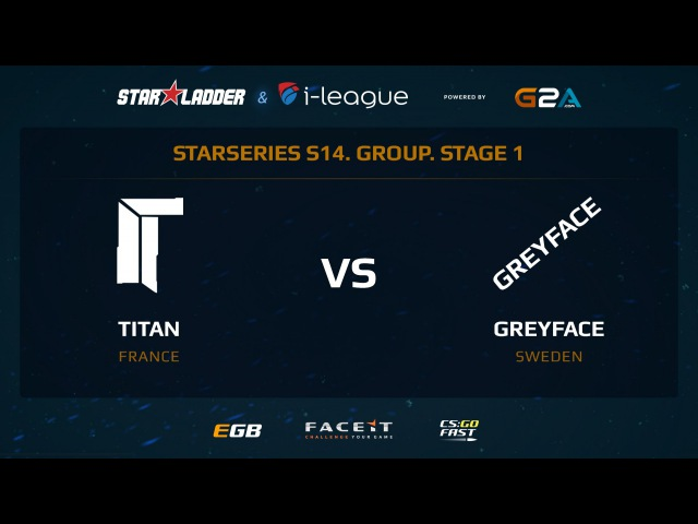 Titan vs GreyFace - Map 3 - Overpass (SL i-League StarSeries XIV)