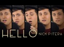 Hello Adele 25 Piano Cover Sung in 3 Octaves Nick Pitera