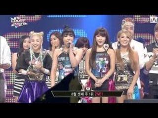  Выступление  2NE1 - DO YOU LOVE ME @M Countdown No.1.