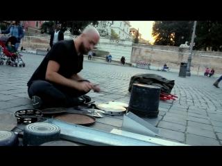 Dario Rossi TECHNO RAVE PARTY _Piazza del Popolo, Rome
