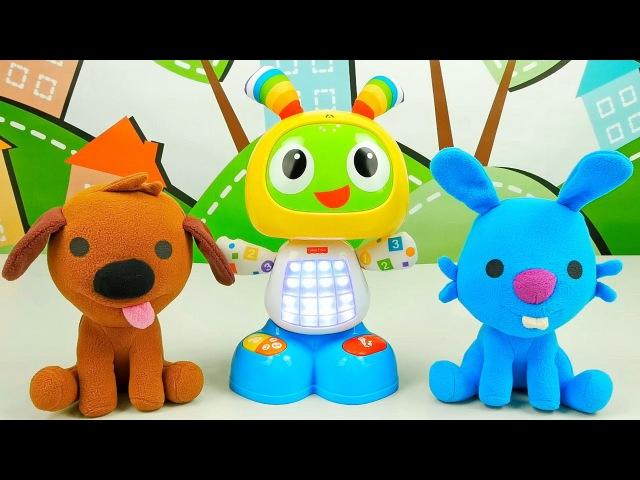 Саго Мини собачка Харви и кролик Джек - Знакомство с танцующим зайчиком БитБо