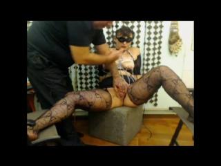 webcam amateur kinky BDSM couple slave
