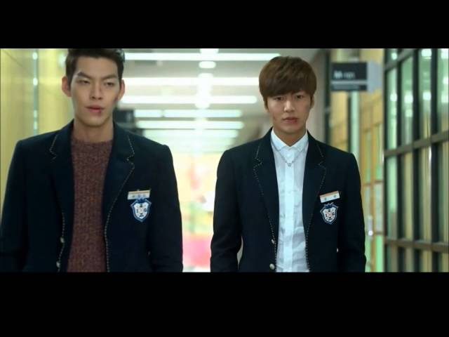 The Heirs 상속자들 It's war 전쟁이야 Instrumental Choi Youngdo Kim Tan fighting 김우빈 이민호 싸운다