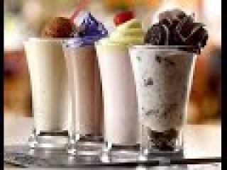 Como fazer milk shake com sorvete   Como fazer milk shake com sorvete de creme