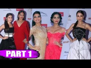 Filmfare Glamour & Style Awards 2015 | Sonakshi Sinha, Jacqueline Fernandez, Sonam Kapoor | PART - 1