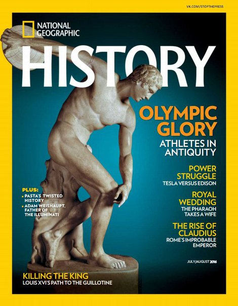 National Geographic History - August 2016 vk.com
