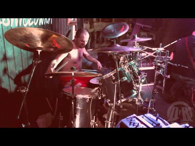 PARRICIDE@Promise Vizun Live in Chorzów Poland 2015 Drum Cam
