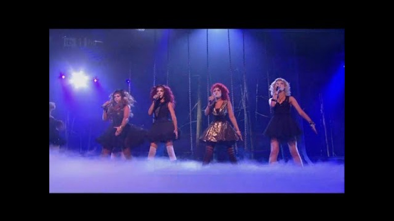 Little Mix are alien on Halloween Week The X Factor 2011 Live Show 4 xfactor