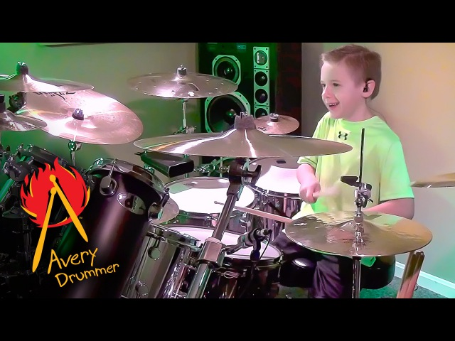 Money For Nothing 7 year old Drummer