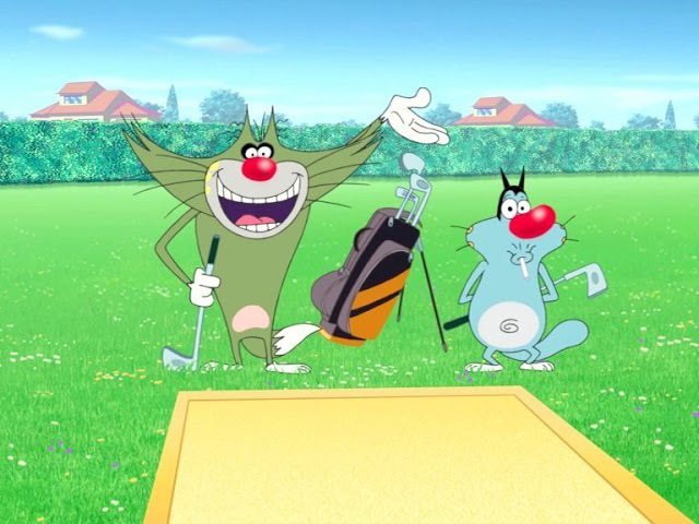 Огги и Тараканы Мини гольф The Mini Golf War La Gurre du Mini Golf 3 21 177