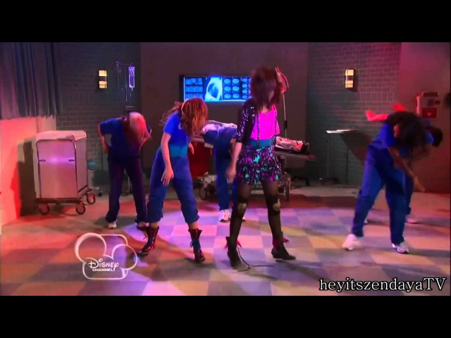 Shake It Up Dancing for my life performance - Cece & Rocky dancing with Ty rapping HD