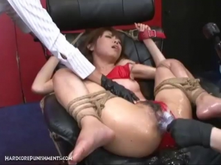Intense japanese bdsm sm bondage film. full movie + asian ass