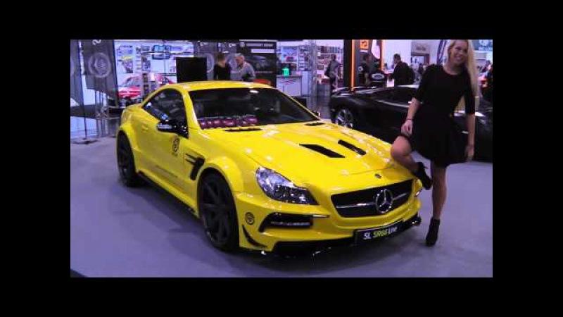 Mercedes-Benz SL 63 AMG (R231) - Sexy Hostess - Essen Motot Show 2014