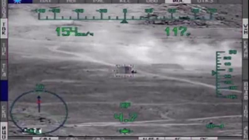 Ми 28 уничтожает танки ИГИЛ