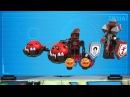 LEGO® NEXO KNIGHTS™ - Krotitelův vůz chaosu vs. Clayova burácející čepel