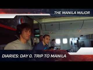 Diaries: Day 0. Trip to Manila @ The Manila Major (ENG SUBS!)