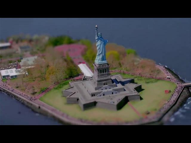 Amazing Tilt Shift in New York by Fernando Livschitz