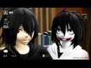 [MMD x Creeepypasta]Don't Judge CHALLENGE -Jeff M-