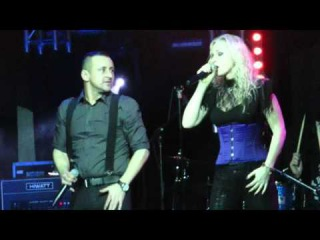"""Liv Kristine and Raymond / Theatre of Tragedy-""""On Whom The Moon Doth Shine""""  Nagold"""